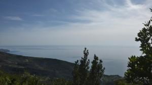In basso a destra Pisciotta, luogo di partenza e arrivo