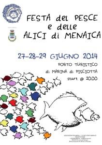 Festa delle Alici di Menaica - Dal 27 al 29 giugno a Marina di Pisciotta